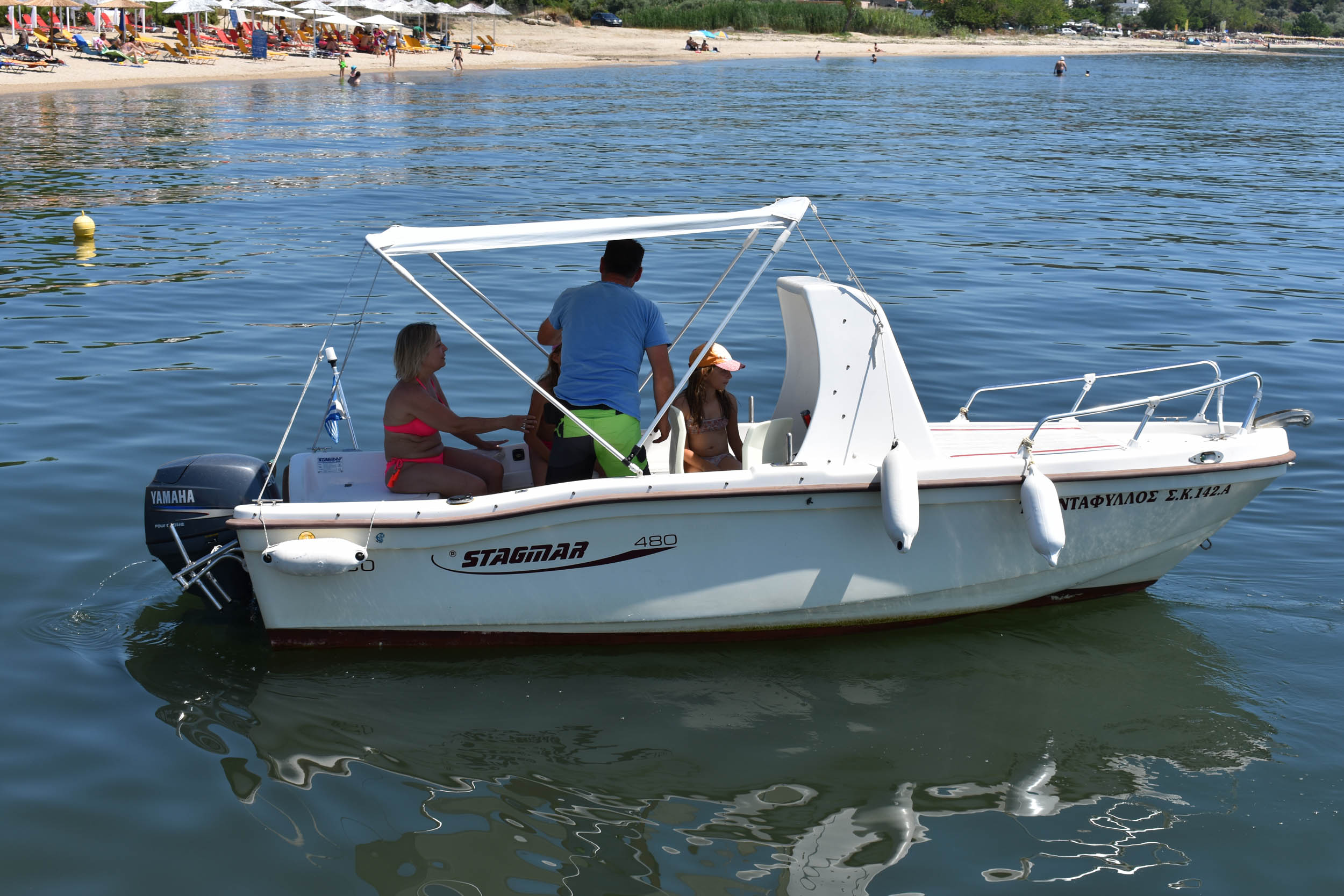 Boat Rentals Water Sports Dolphins Thassos